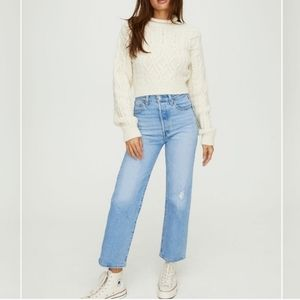 NEW Levi's Ribcage Straight Ankle High Waist Jeans